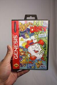 FANTASTIC-DIZZY-COMPLETE-1996-Authentic-Sega-Genesis-CLEAN-PINS-TESTED