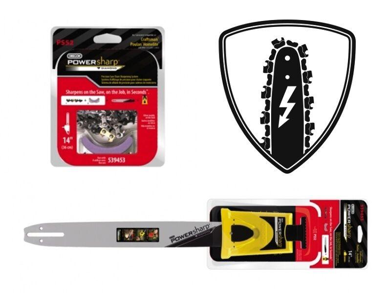 Oregon powersharp starterset pour tronçonneuse ALPINA e120 e120 e120 35 cm épée 3/8 1,3 MM 6ae1da