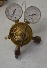 Victor Vts 452 D Regulator With Gauges Hydrogen Methane Natural Gas Service