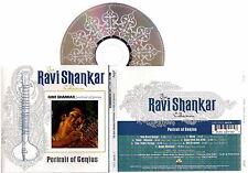 RAVI SHANKAR - Portrait Of Genius (1998) New CD VERY RARE Original IMPORT