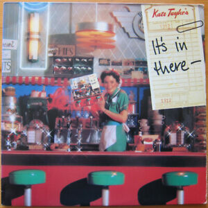 Kate Taylor – It's In There - And It's Got To Come Out! lp vinyl usa 1979