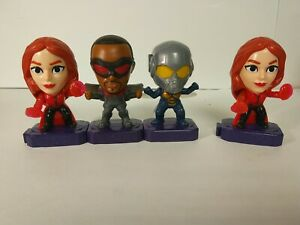 2020 MARVEL HEROES- AVENGERS-4 Mcdonalds Happy Meal Toys