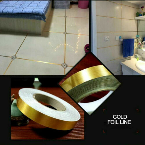 Tape Self Adhesive Ceramic Waterproof Mildewproof Decorative Edge Wall Floor aa