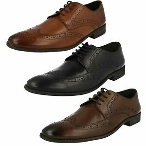 Details About Mens Clarks Leather Brogue Lace Up Shoes Sizes 8 12 G Fitting Chart Limit