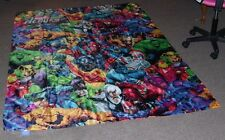Marvel Heroes 8 X 5 FOOT Huge Polyester 2010 Flag! The Hulk! Spiderman!