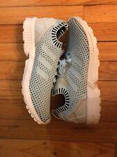 b86ac164d23dc Adidas ORIGINALS MEN S ZX FLUX PK Primeknit Sneakers Ice Blue S75973 Size  9.5