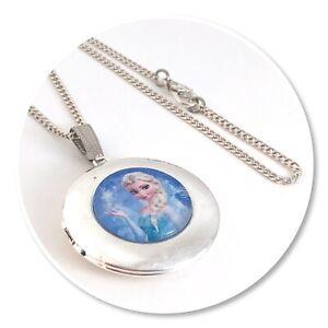FROZEN ELSA Round Locket necklace