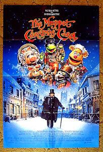 "MISS PIGGY, TINY TIM, KERMIT THE FROG -- ""THE MUPPET CHRISTMAS CAROL"" / poster | eBay"