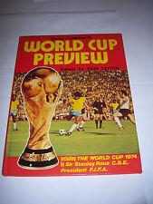 David Coleman Campeonato Mundial de vista previa de 1974-Fútbol anual / Libro