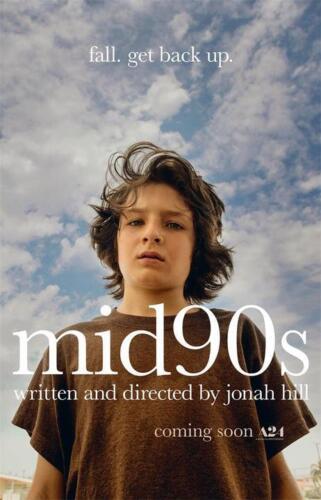 """Mid90s Movie Poster 24x36/""""//60x90cm Jonah Hill Film Art Silk Print"""