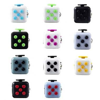 Fidget Cube Desk Toy Stress Anxiety Relief Focus Puzzle