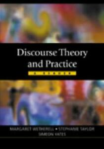 Discourse Theory and Practice by Margaret Wetherell editor Stephanie Joyce - Oxford, Oxfordshire, United Kingdom - Discourse Theory and Practice by Margaret Wetherell editor Stephanie Joyce - Oxford, Oxfordshire, United Kingdom