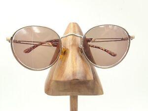 babe6efe95b Vintage Sergio Tacchini ST1005-S T817 4 Leopard Round Sunglasses ...