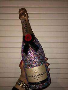 """Moet&Chandon Imperial Brut"" Kristallflasche Geschenkidee @Luxbottles_"