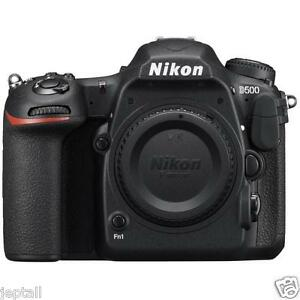 "Nikon D500 Body 20.9mp 3.2"" DSLR Digital Camera 2016 Brand New Jeptall D20"