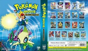 ANIME-DVD-Pokemon-21-in-1-Movie-Collection-Eng-sub-amp-All-region-FREE-CD