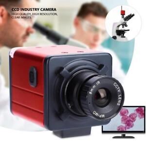 14MP-Digital-C-mount-Industry-Camera-HD-Microscope-Video-Recorder-TV-USB-DVR-Lab