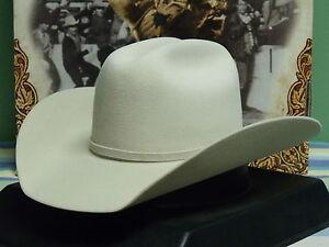 1e45d847fca Details about LARRY MAHAN 3X FUR FELT GUNNISON COWBOY WESTERN HAT