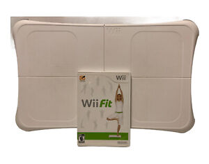 Wii Fit with Balance Board Controller Bundle and Wii Fit Game (Nintendo Wii)