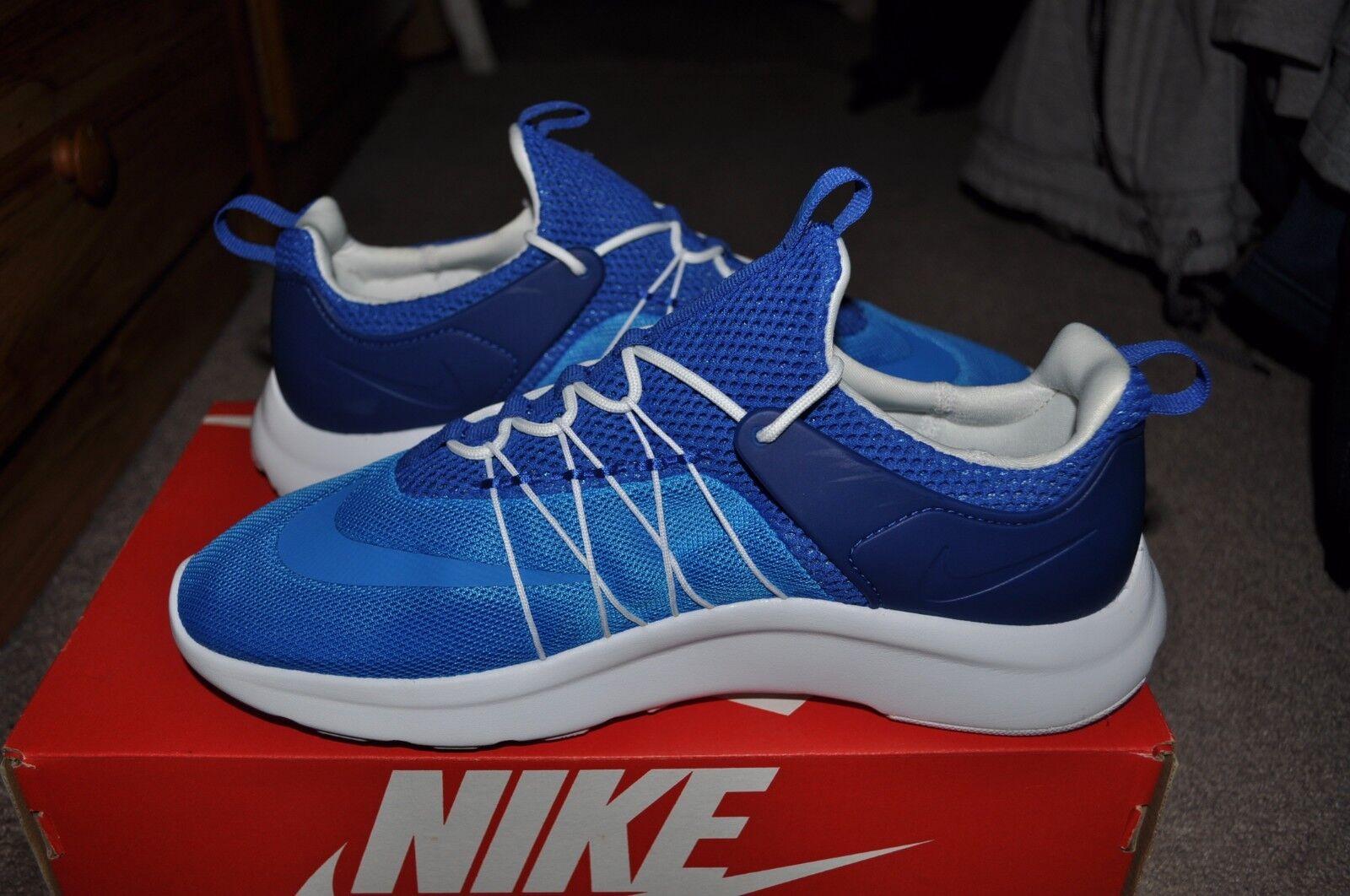 Nike darwin / foto blu - bianco - gioco la dimensione reale