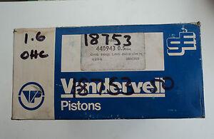 Pistons-0-50mm-Ford-Capri-1600-1600GT-Cortina-1600GT-1600L-1600XL-Taunus