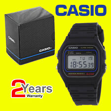 GENUINE Casio Collection W-59-1VQES Sports 50m Water Resistant Digital LCD Watch
