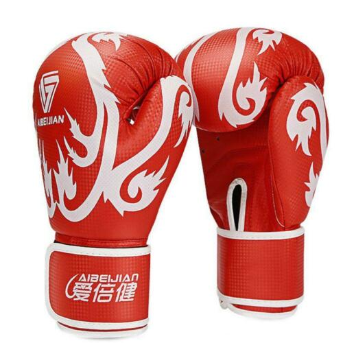 Adult Unisex Boxing Gloves Kickboxing Sparring Training Punching Bag Mittens