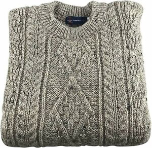 Mens-100-British-Wool-Skiddaw-Arran-Jumper-Brand-New-With-Tags