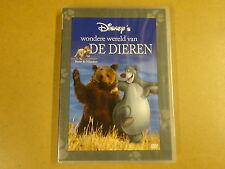 DVD / DISNEY'S WONDERE WERELD VAN DE DIEREN - BEREN & OLIFANTEN
