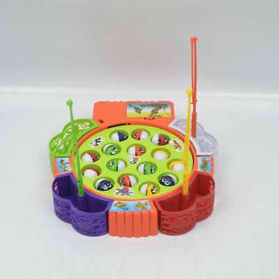 Kinder Angeln Spiel Musical Electric Angeln Spielzeug mit 24 Fische
