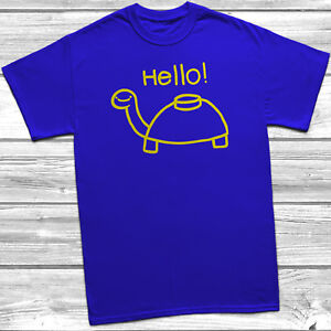 Mine Turtle Hello T Shirt Asdfmovie Funny Youtube Video Asdf Kids