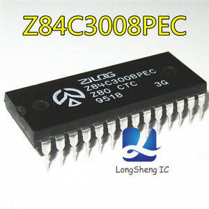 2PCS-Z84C3008PEC-IC-Z84C3008-DIP-28-new