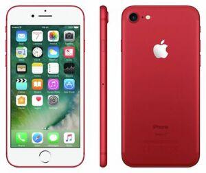 Apple iPhone 7 128 Go - Rouge SmartPhone 100% Tested Débloqué Garantie Grade iOS