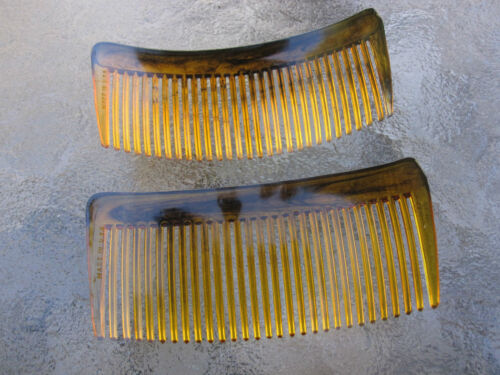 "2ea Rounded Back Hair Combs 3 3//4/"" Made in USA Good Hair Days Your Color Choice"