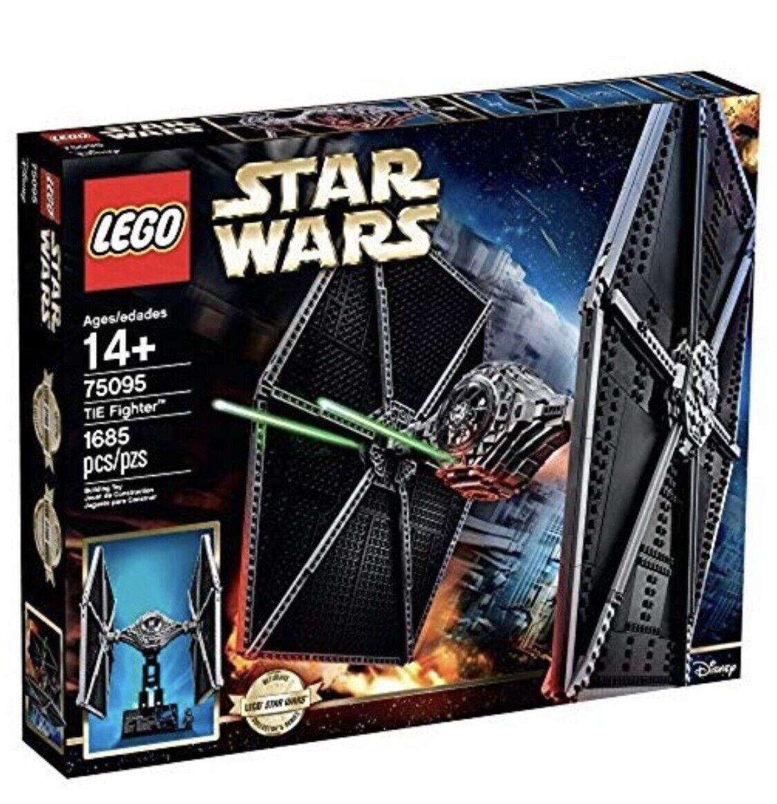 LEGO Star Wars UCS TIE Fighter (75095) New In Original Sealed Box - RETIrot