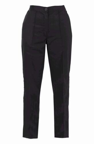 Womens Plus Size Work Wear Trouser Ladies Office Wear Formal Plain Work Pants