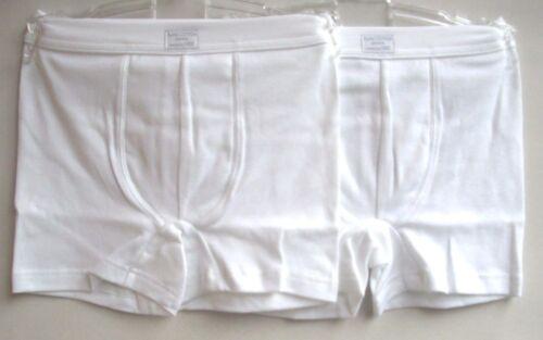 116 140 152 164 176 NUOVO UVP 9,95 € art SANETTA Boys Shorts Bianco Tg 372900