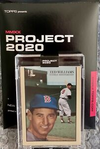 TOPPS PROJECT 2020 - TED WILLIAMS BY OLDMANALAN  **LIMITED EDITION**  #90