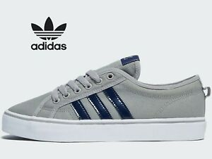 2020-Latest-Adidas-Originals-Nizza-Lo-Men-Size-UK-7-8-10-Solid-Grey
