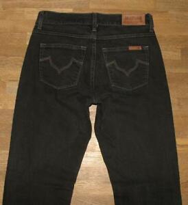 elastisch-hueftig-034-MUSTANG-034-JEANS-Modell-SISSY-in-schwarz-blau-W27-034-L32-034