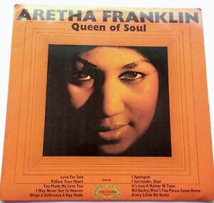 Aretha Franklin QUEEN OF SOUL Vinyl LP 1968 First Press A1/B1