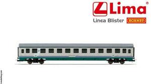 LIMA-HORNBY-H0-1-87-BLISTER-CON-CARROZZA-PASSEGGERI-II-CLASSE-XMPR-ART-HL4303