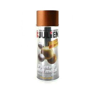 peinture bombe effet metal cuivre aerosol 400 ml julien. Black Bedroom Furniture Sets. Home Design Ideas