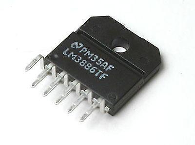 National Semiconductor LM3886TF 68 watt audio power op amp 11pin US distributor