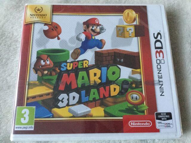 NINTENDO 3DS GAME - SUPER - SUPER MARIO 3D LAND **BRAND NEW**