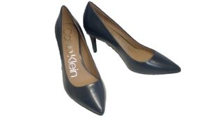Gayle-Women-039-s-Pump-Navy-Blue-By-Calvin-Klein
