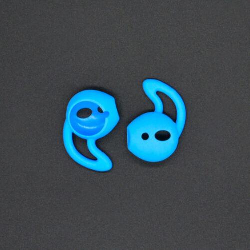 1 par airpods Earpod Gancho para la oreja de silicona cubierta para puntas para oreja Apple airpods Auriculares