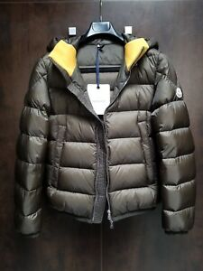 MONCLER-Men-039-s-Clamart-Puffer-Jacket-Size-1-Color-Military-Green-NICE