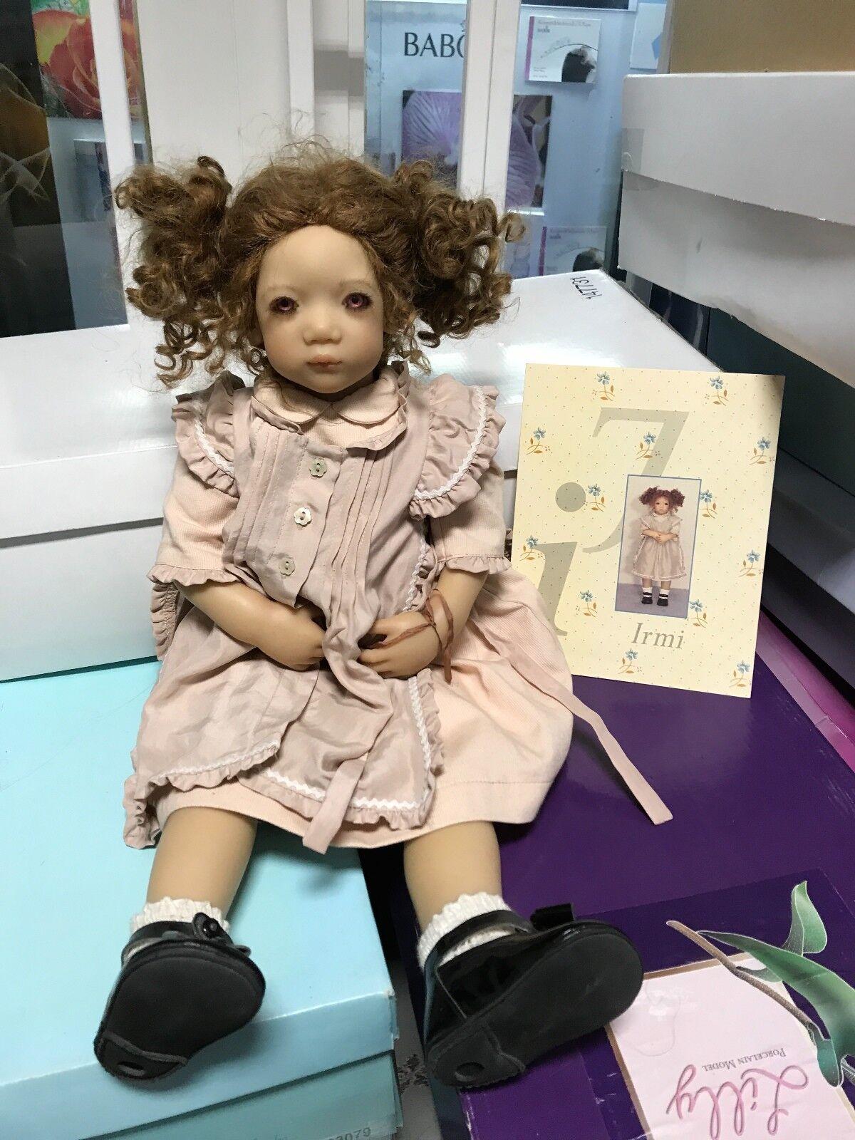 Annette Himstedt Puppe Irmi 56 cm. Top Zustand