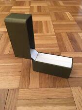 In similpelle di Lusso Braccialetto Verde/Anello Regalo Presentazione Box NUOVO
